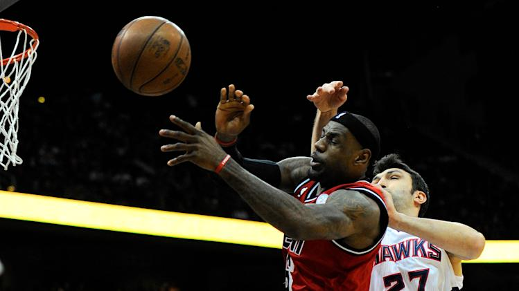 NBA: Miami Heat at Atlanta Hawks
