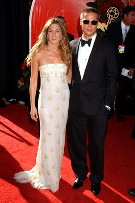 Jennifer Aniston and Brad Pitt 56th Annual Emmy Awards - 9/19/2004