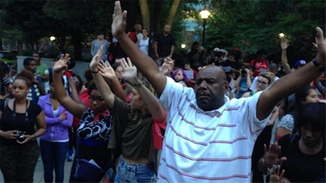 National Moment of Silence held in Philly, dozens of U.S. cities