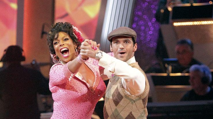 "Wendy Williams and Tony Dovolani perform on ""Dancing with the Stars."""