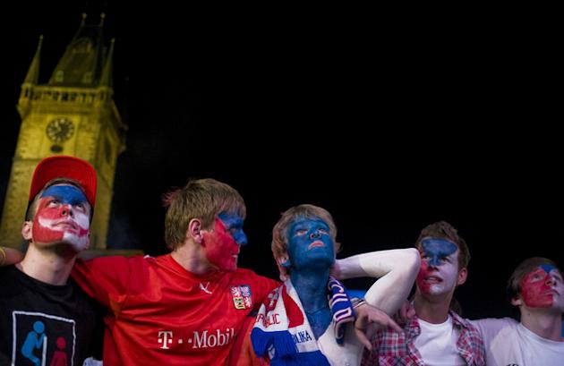 Czech Fans AFP/Getty Images