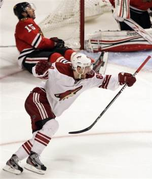 Boedker scores in OT again for Coyotes