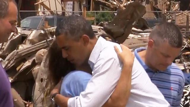 Obama visits Moore, promises sustained federal aid