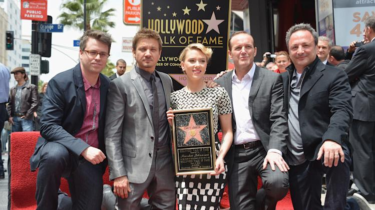 Scarlett Johansson Walk of Fame Ceremony