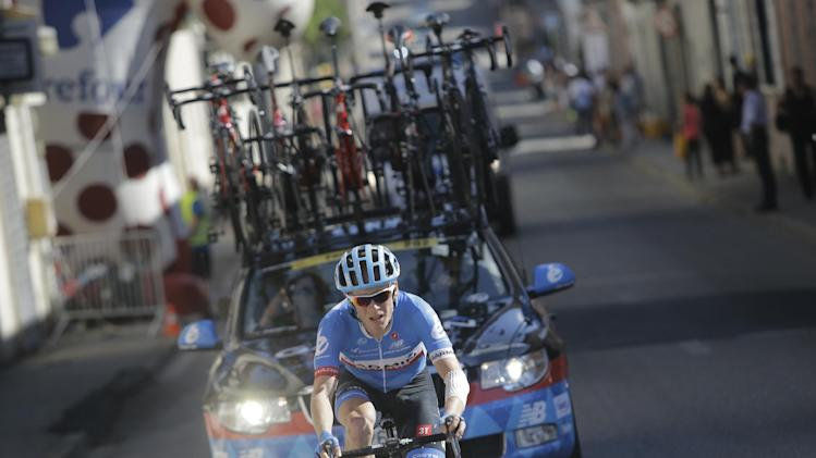Talansky out of Tour de France with back pains