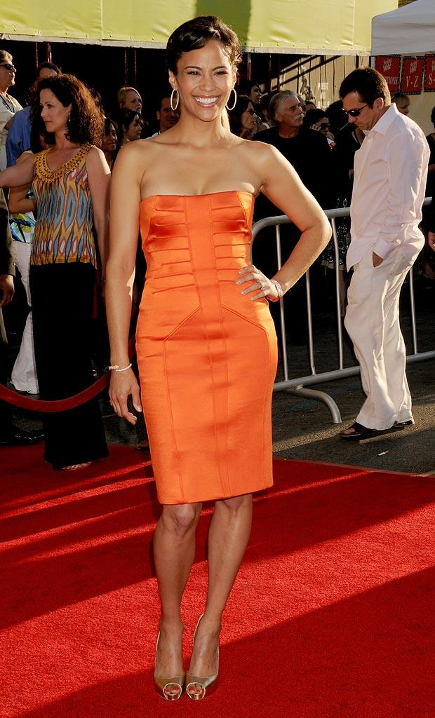 Swing Vote LA Premiere 2008 Paula Patton
