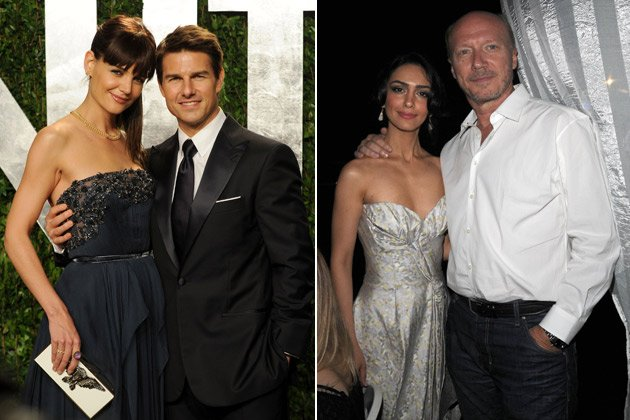 Tom Cruise: Scientology castete Nazanin Boniadi (r., m. Paul Haggis) f&#xfc;r ihn (Bilder: Getty Images, Splash)