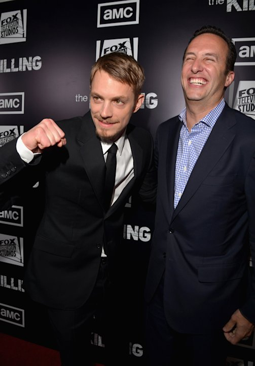 Joel Kinnaman and Charlie …