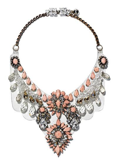 Shourouk Cora Pearl Necklace, $965, Maryam Nassir Zadeh, New York, 212.673.6405