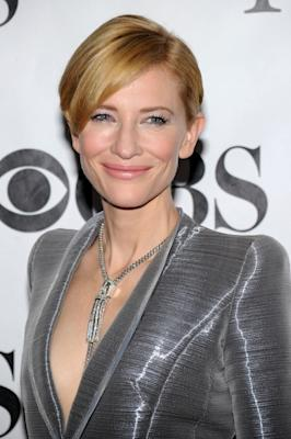 Cate Blanchett attends the 64th Annual Tony Awards at Radio City Music Hall on June 13, 2010 in New York City.  -- Getty Images