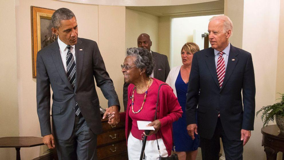 Meet the 97-Year-Old Who Was Surprised by Obama on Her 'Field Trip' to the White House