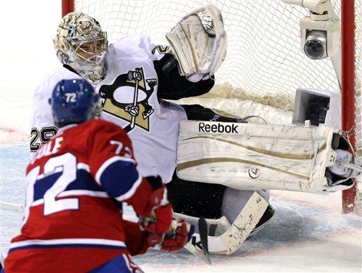 Plekanec gives Canadiens 3-2 win over Pens in SO