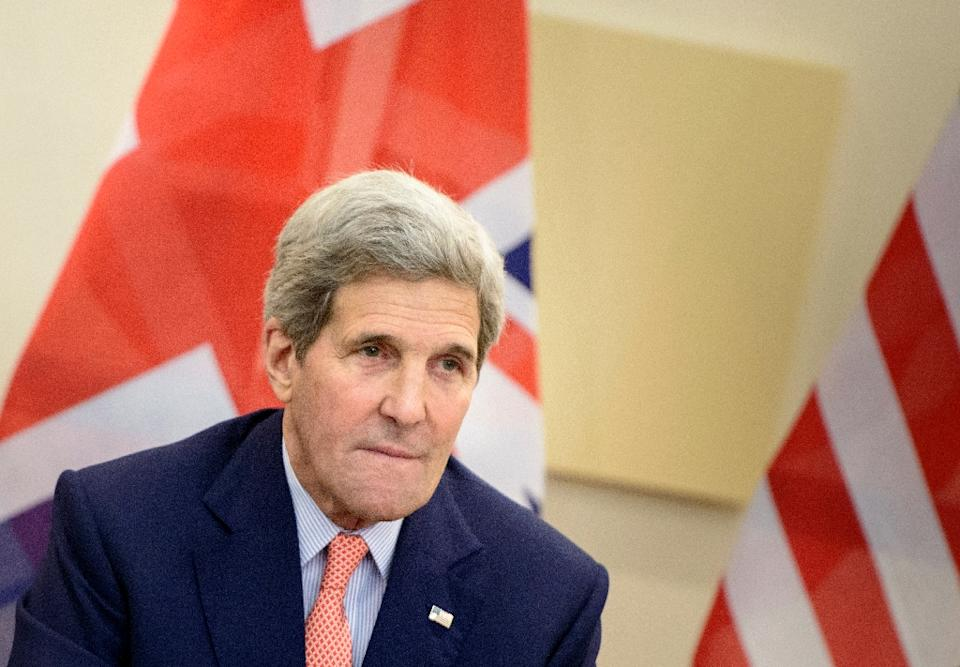 Kerry cancels plans to attend Monday event back in US