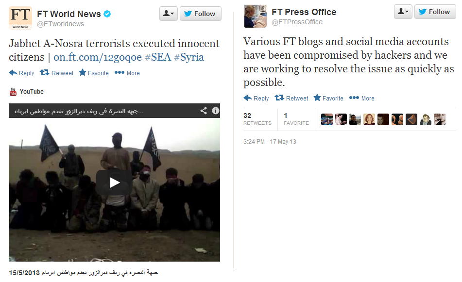 Syrian Electronic Army FT
