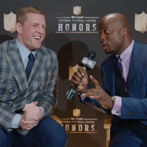 'NFL Honors': Houston Texans defensive end J.J. Watt on winning Defensive Player of the Year