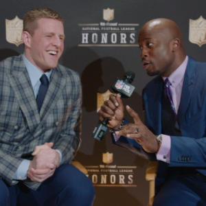 'NFL Honors': Houston Texans defensive end J.J. Watt on winning Defensive Player of the Year