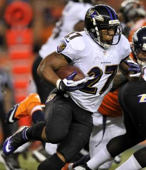 Ravens RB Rice doubtful for game against Texans