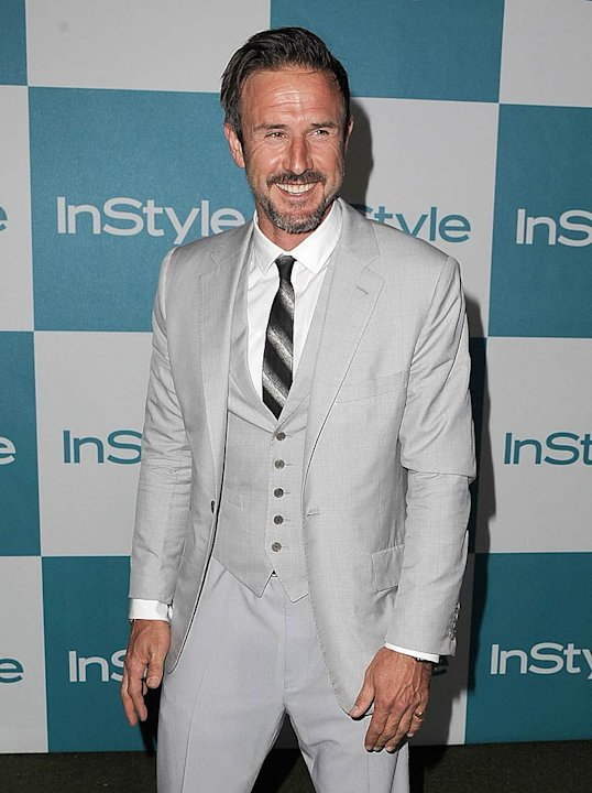 David Arquette In Style Prty