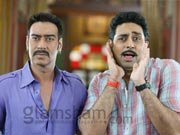 Ajay, Abhishek&#39;s BOL BACHCHAN trailer out!