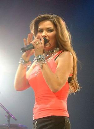 Shania Twain was one of the first celebrity's to ring in the new year, by getting married the first week of January 2011.