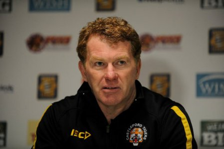 Rugby League - Stobart Super League - Castleford Tigers v Wigan Warriors - The PROBIZ Coliseum