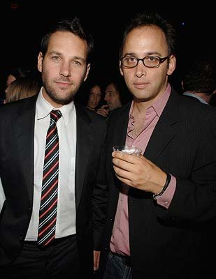Paul Rudd and director David Wain at the New York premiere of THINKFilm's The Ten
