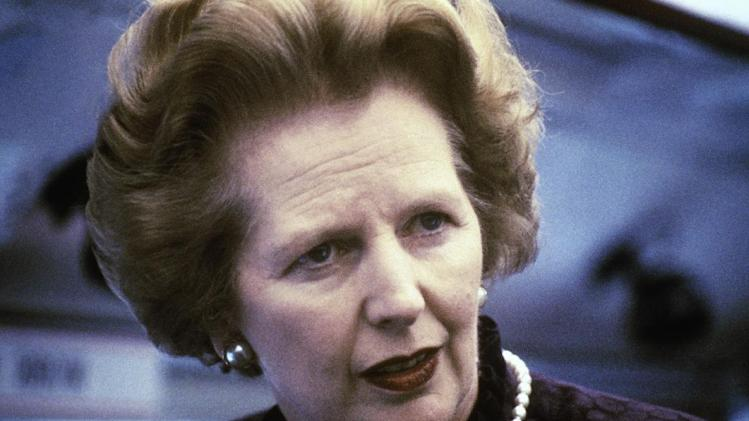 """This is a 1969 file photo showing Margaret Thatcher. Ex-spokesman Tim Bell says that former British Prime Minister Margaret Thatcher has died. She was 87. Bell said the woman known to friends and foes as """"the Iron Lady"""" passed away Monday morning, Aprilo 8, 2013. (AP Photo/File)"""