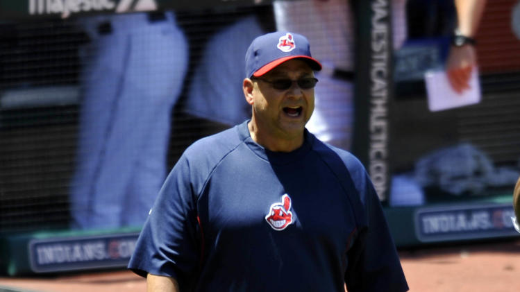 MLB: Toronto Blue Jays at Cleveland Indians