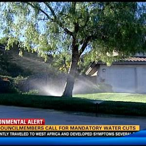 Two councilmembers call for mandatory water cuts