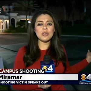 FSU Shooting Victim Back In S.Fla., Speaks Out