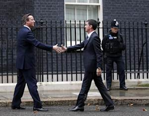The French Prime Minister visited Downing Street before …