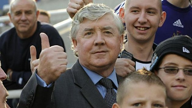 Newcastle's director of football Joe Kinnear (Reuters)
