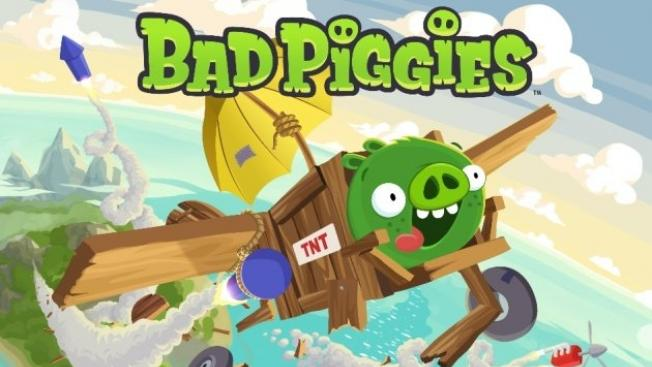 Rovio's Bad Piggies reached No. 1 in U.S. iTunes App Store in just three hours