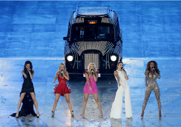 The Spice Girls perform during …