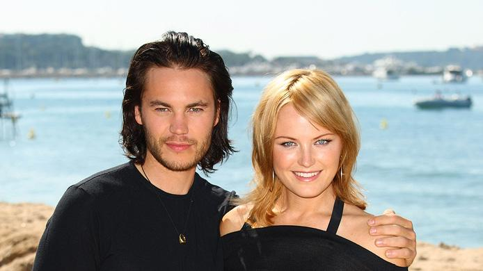 2009 Cannes Film Festival Taylor Kitsch Malin Akerman The Bang Bang Club photocall