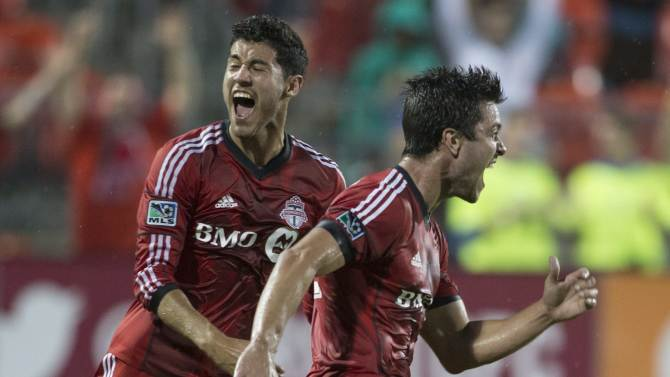 Wiedeman gives Toronto FC 1-1 draw with Revolution