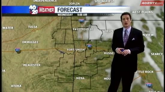 Drew's Weather Webcast, April 23rd