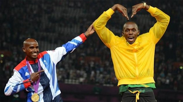 London 2012: Farah und Bolt