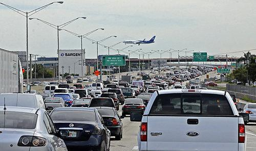 Miami Home to Three of Worst Traffic Bottlenecks in Nation
