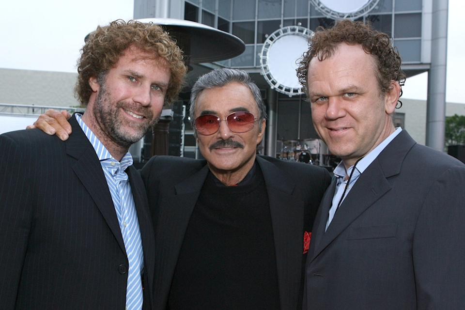 Will Ferrell Burt Reynolds John C. Reilly 2007