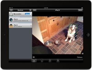 presence people power ipad app home surveillance