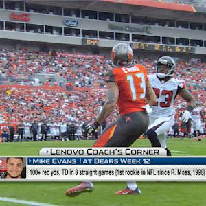 Lenovo Coach's Corner: Can Tampa Bay Buccaneers wide receiver Mike Evans continue his success?