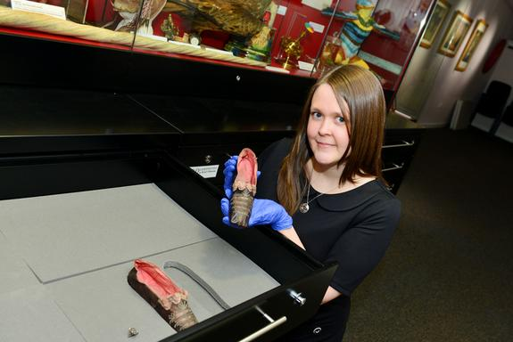 Slippers of Napoleon's Sister Found