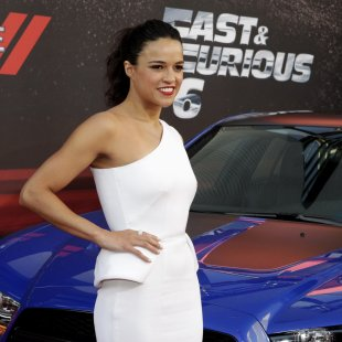 "Cast member Rodriguez arrives at the premiere of the movie ""Fast & Furious 6"" in Los Angeles"