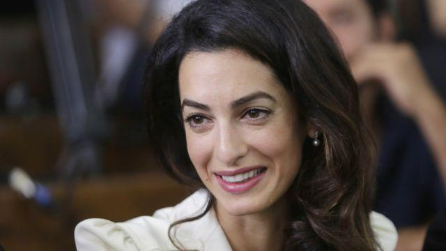 "The AP describes renowned human rights lawyer Amal Clooney as the ""wife of an actor"""