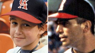 Gordon-Levitt, left, and Danza in 1994's 'Angels in the Outfield'