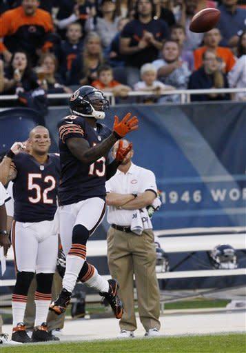 Cutler, Marshall sharp; Bears beat Redskins 33-31