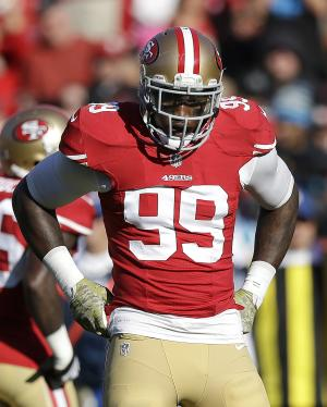 49ers exercise LB Aldon Smith's 2015 option