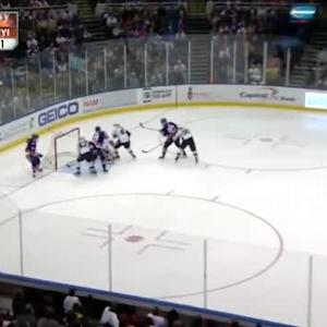 Anders Lee Goal on Thomas Greiss (02:38/3rd)