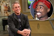 Tony Danze stops by Access Hollywood Live on September 18, 2012 / inset: Tupac Shakur -- Access Hollywood